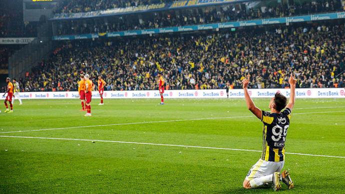 Fenerbahçe ile Galatasaray 1-1 Berabere Kaldı, Hakem Ali Palabıyık Maça Damga Vurdu