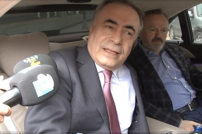 Galatasaray Başkanı Mustafa Cengiz