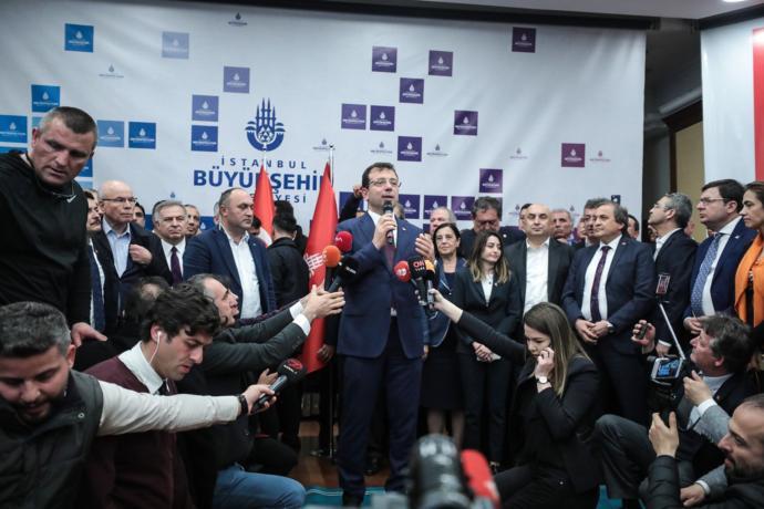 İstanbul Belediye Başkanı Ekrem İmamoğlu