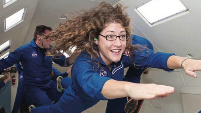 Amerikalı Kadın Astronot Christina Koch 328 Gün Uzayda Kalacak!
