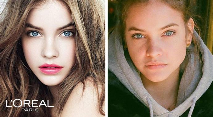Markaların En Ünlü 10 Reklam Yüzü ve Kamera Arkasından Makyajsız Halleri!