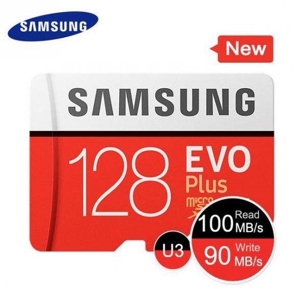 Samsung 128GB Evo Plus Micro SD Hafıza Kartı