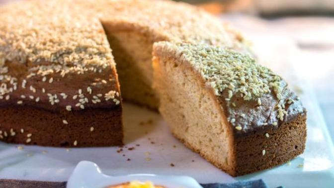 Pamuk Gibi Yumuşacık Kekiyle Beş Çayınıza Renk Katacak Bir Lezzet: Tahinli, Kakaolu Kek