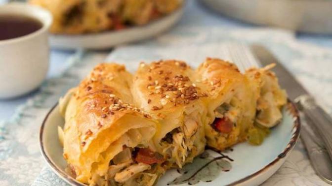 Kağıdı Kalemi Hazırlayın KScan'lar Yepyeni Bir Lezzetle Karşınızdayım: Tavuklu Kubbe Böreği