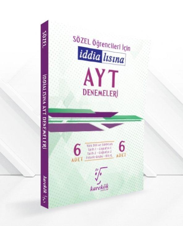 """Karekök Yayınları Sözel Öğrencilerine Özel """"İddialısına"""" Denemeleri"""