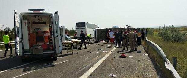 1 Mayıs Kutlamalarına Giden Otobüs Kaza Yaptı: 5 Kişi Hayatını Kaybetti (Şanlıurfa)