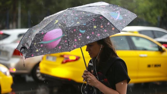Ülke Genelinde 2 Gün Sürecek Serin ve Yağışlı Hava Geliyor