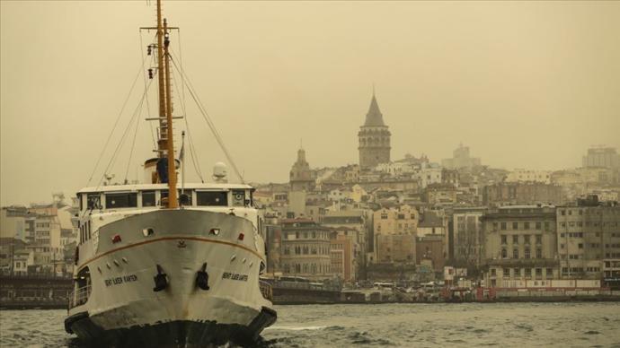 Marmara ve Ege'ye Bu Gece İçin Kuzey Afrika Kaynaklı 'Toz Taşınımı' Uyarısı Yapıldı