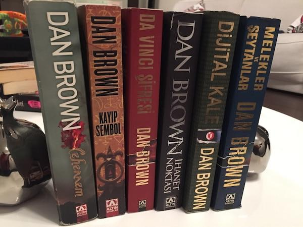 Dan Brown romanları