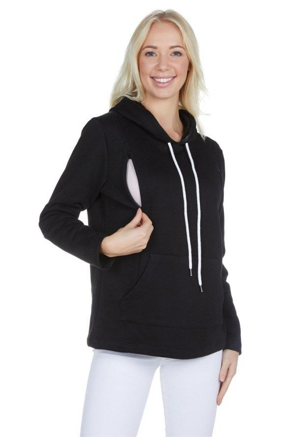 Doğumdan Sonra Da Kullanılabilecek Bir Sweatshirt