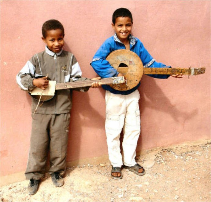 Afrika'nın Yaratıcı Çocuklarının Muhteşem Oyuncakları