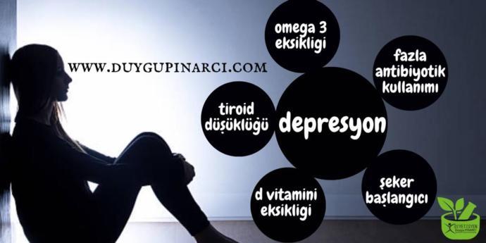 Depresyon Ve Beslenme Arasındaki İlişki!