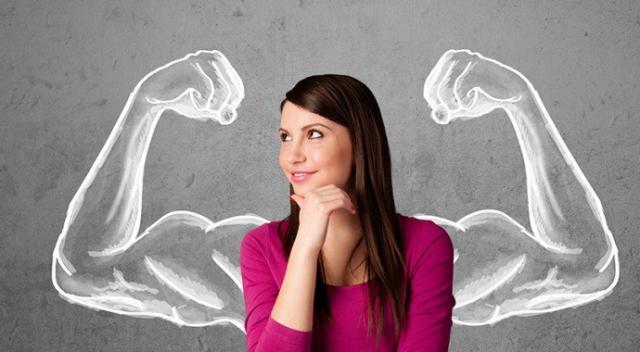 Güçlü olmayı düşünürken ruhunuzda pozitif kaslar çıksın...