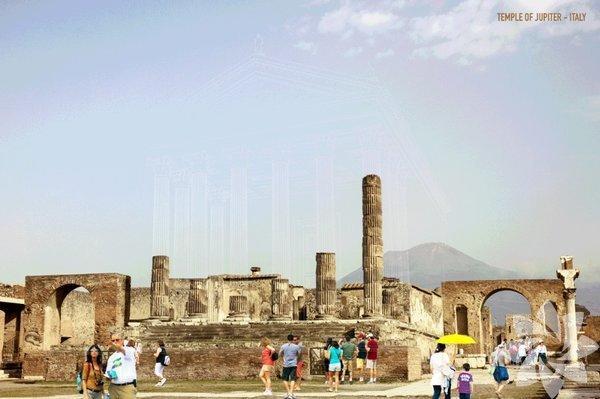 İhtişamını Kaybeden Yapılar 3 Boyut Yardımı İle Eski Haline Döndürülüyor