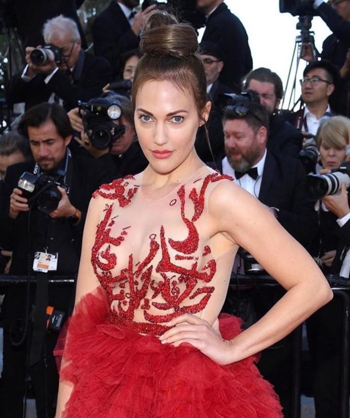 Meryem Uzerli'den Yine Çok Konuşulacak Hareket (Cannes Film Festivali)