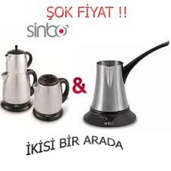 Sinbo Çay Makinesi ve Kahve Cezvesi