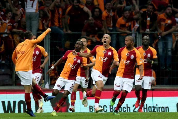 2018-2019 Sezonu Spor Toto Süper Lig Şampiyonu Galatasaray Oldu (Kutlamalardan Canlı Yayın)