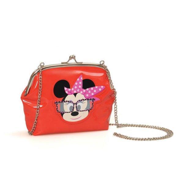 Minnie Mouse Omuz Çantası 20*16*5 cm Kırmızı
