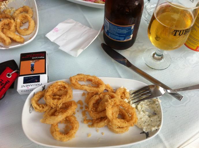 İskele'de balık ürünlerinin tadı bir başka