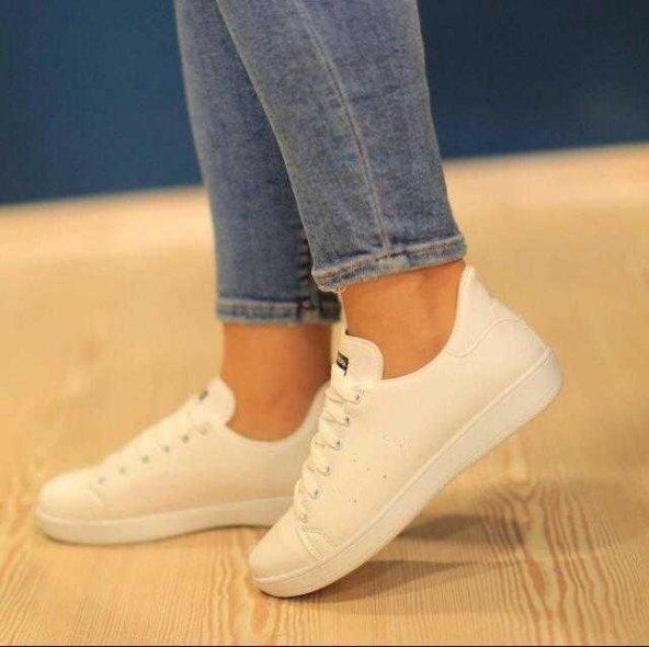 🌸Beyaz spor ayakkabı