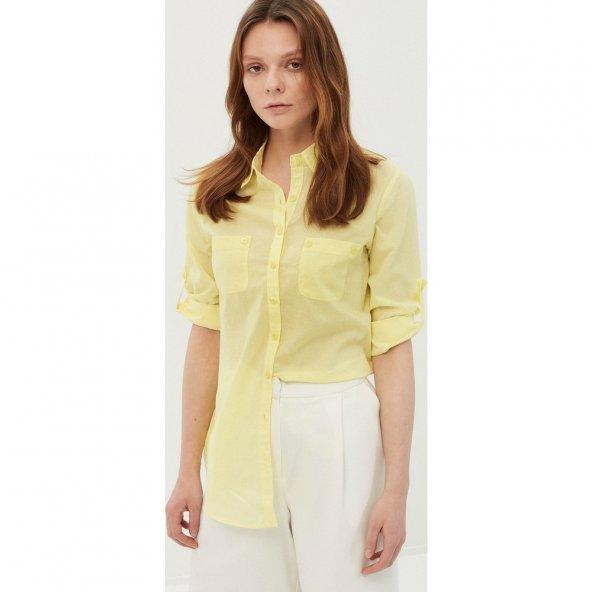 Koton Kadın Klasik Gömlek