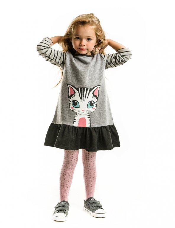 Lady Cat Kız Çocuk Elbise
