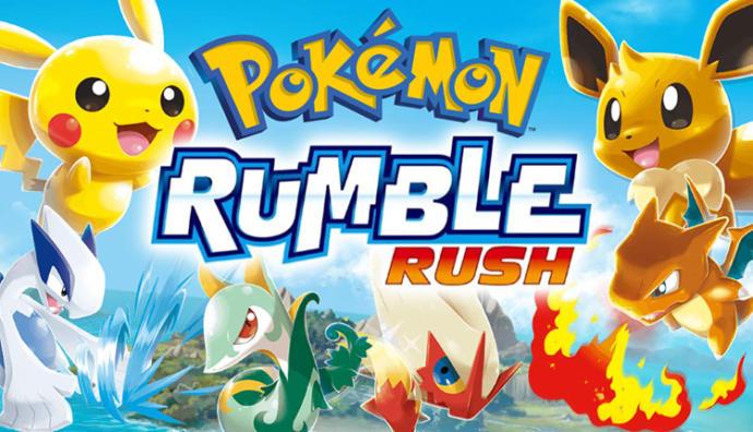 Sevimli Dostlarımız Olan Pokémon Rumble Rush Mobile Çıktı!
