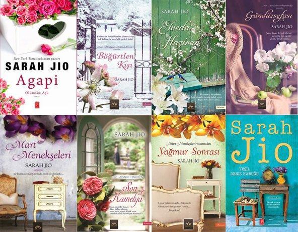Sarah Jio Aşk Romanları Seti (8 Kitap)