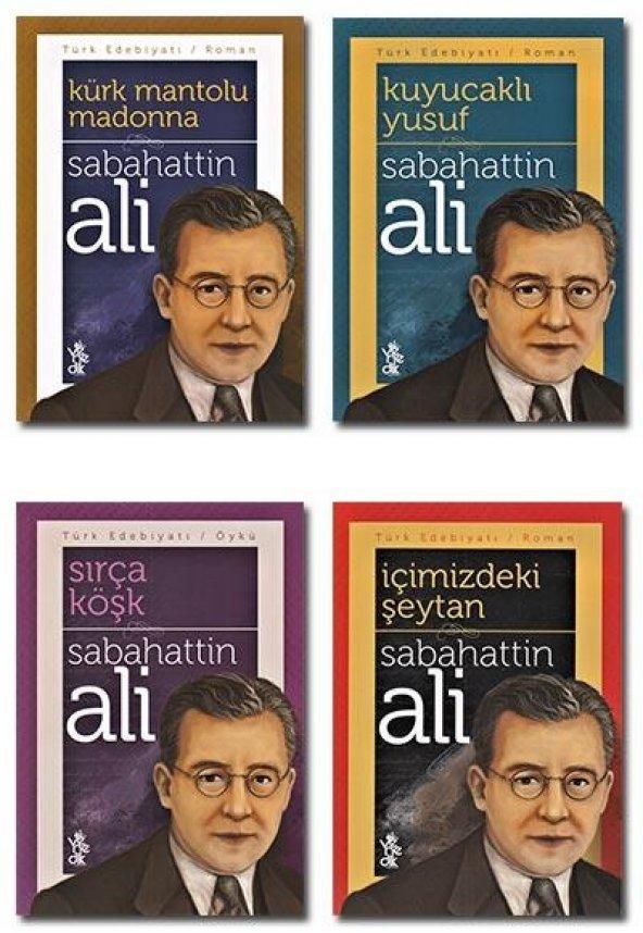 Sabahattin Ali Seti (4 Kitap)