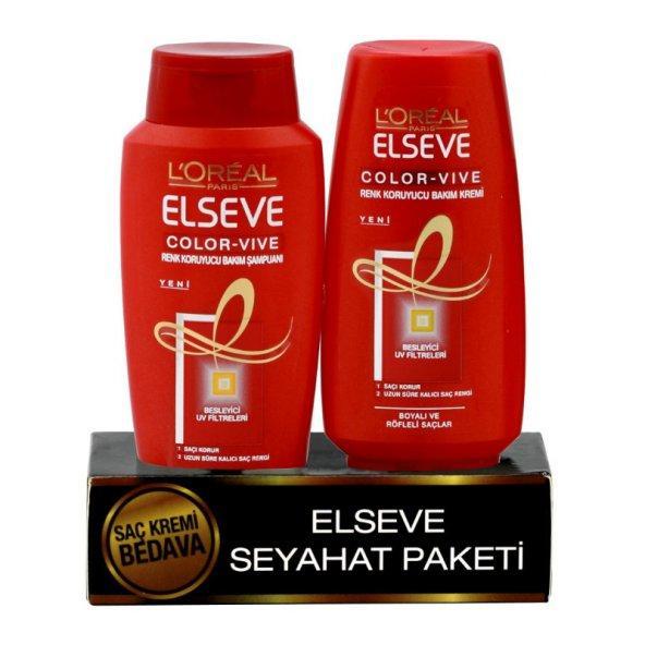 Loreal Elseve Seyahat Paketi Şampuan ve Krem 90 ml