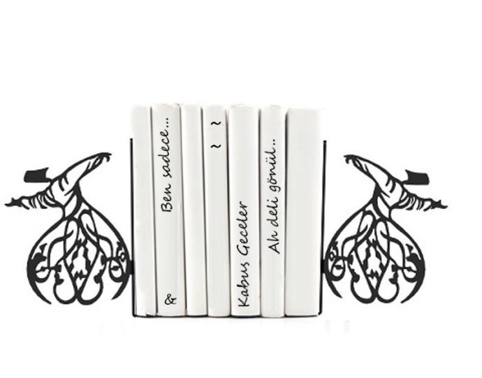 Kitapseverlerin Evlerinde Kullanabilecekleri Birbirinden Şık Kitap Tutucu Modelleri