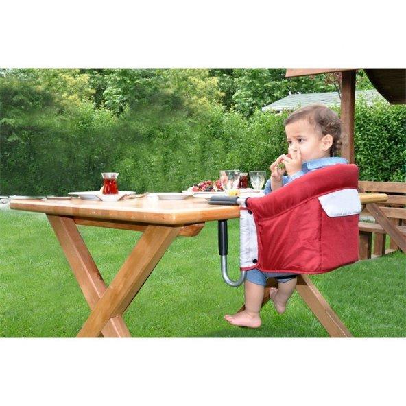 Tommybaby Gurme Portatif Mama Sandalyesi Taşınabilir Mama Sandaly