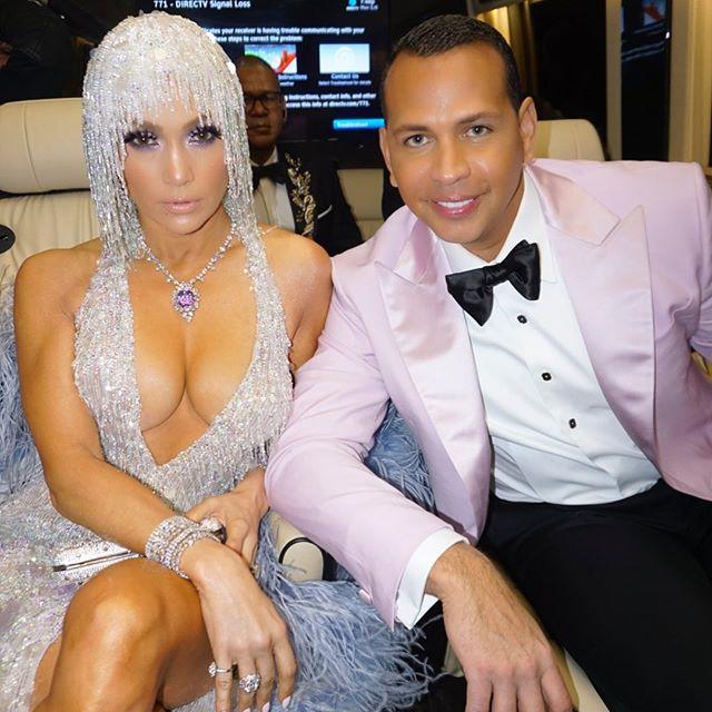 Jennifer Lopez ve Nişanlısı Alex Rodriguez