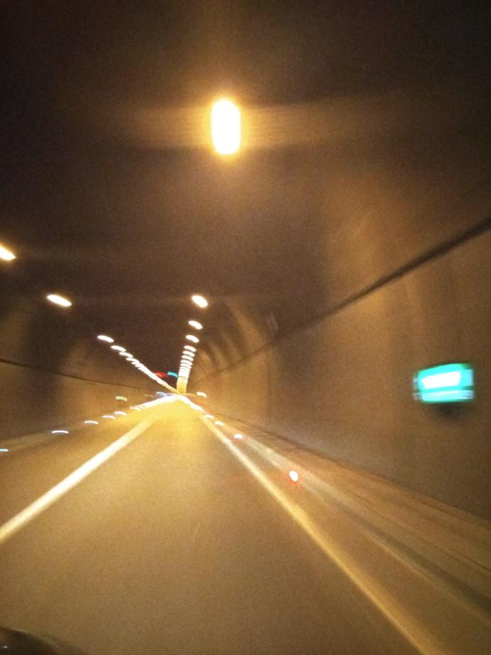Kuskunkıran Geçidi yerine açılan tünel 2300 metre civarında...