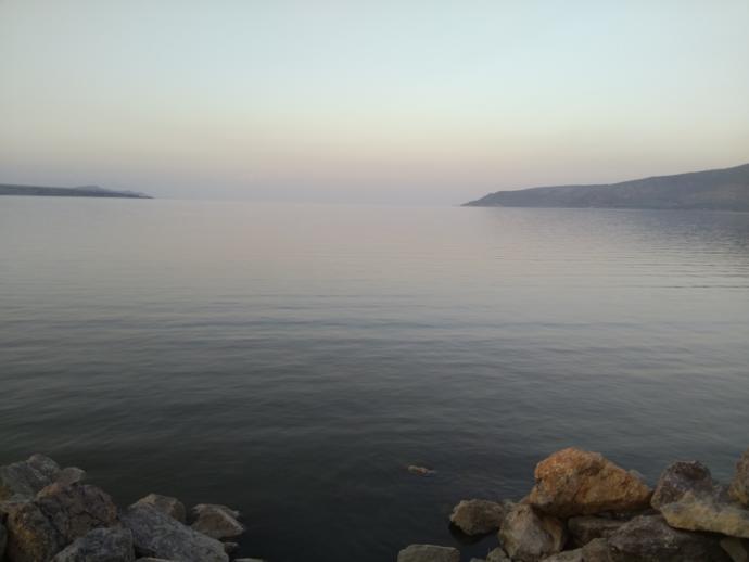 Van Gölü akşam çok güzel..