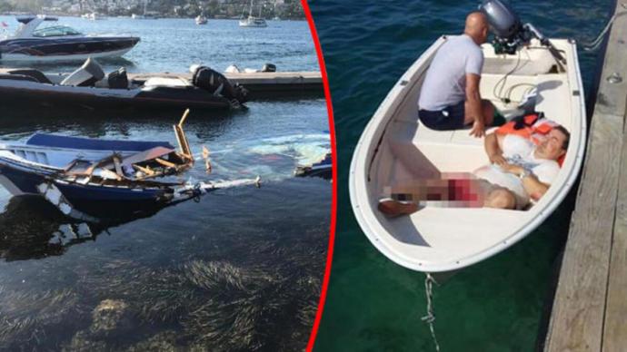 Bodrum'da Gazetecileri Biçen Teknenin Görüntüsü Ortaya Çıktı (Maça Kızı)
