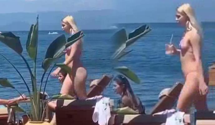 Bikini ile Görüntülenen Aleyna Tilki: Ben Zayıf Ya Da Kilolu Değilim Yanımdakiler Küçük