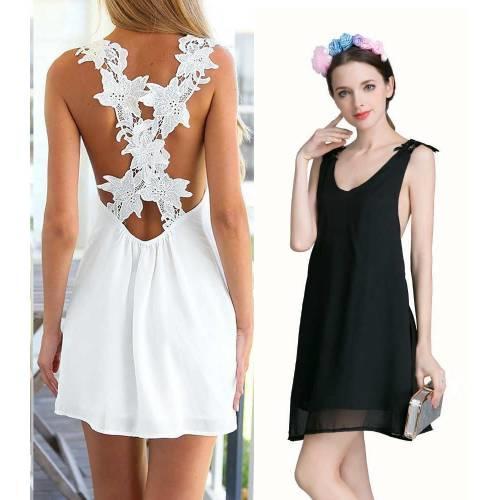 2. Yaz Akşamlarının Tadını Çıkarmak İçin Şıklığı Anında Yakalayabileceğiniz Bir Elbise