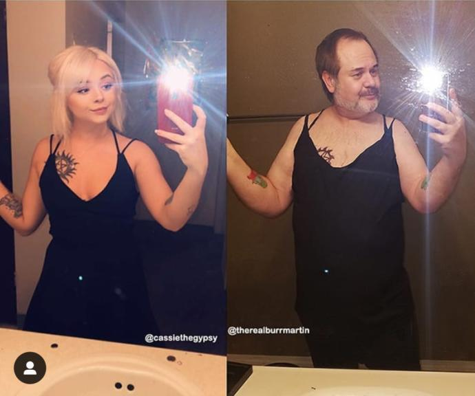 Kızının Selfie Resimlerini Trolleyen Instagram'ın En Baba Trolü: Chris Burr Martin