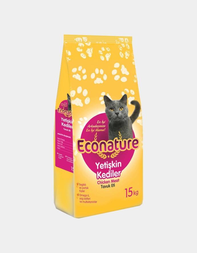 10 Kg Econature Tavuklu Kedi Maması