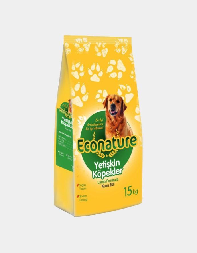 1 Kg Econature Kuzulu Köpek Maması