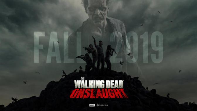 The Walking Dead Onslaught Oculus Rift, Playstation VR ve HTC Vive ile Gerçekliğini Yaşatacak!