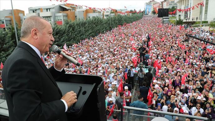 Cumhurbaşkanı Recep Tayyip Erdoğan - Sancaktepe Konuşması