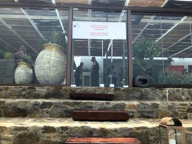 Nusret'in Mikonos'ta Açtığı Şube Kapatıldı