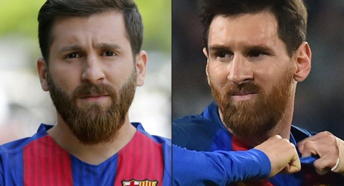Reza Parastesh - Messi