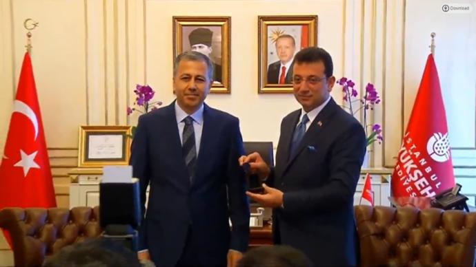 İstanbul Valisi Ali Yerlikaya - İBB Başkanı Ekrem İmamoğlu