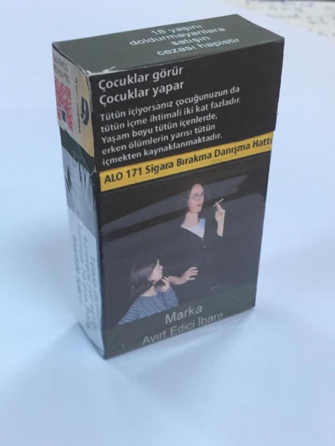 5 Aralık'tan İtibaren Piyasada Olacak! İşte Yeni Sigara Paketleri