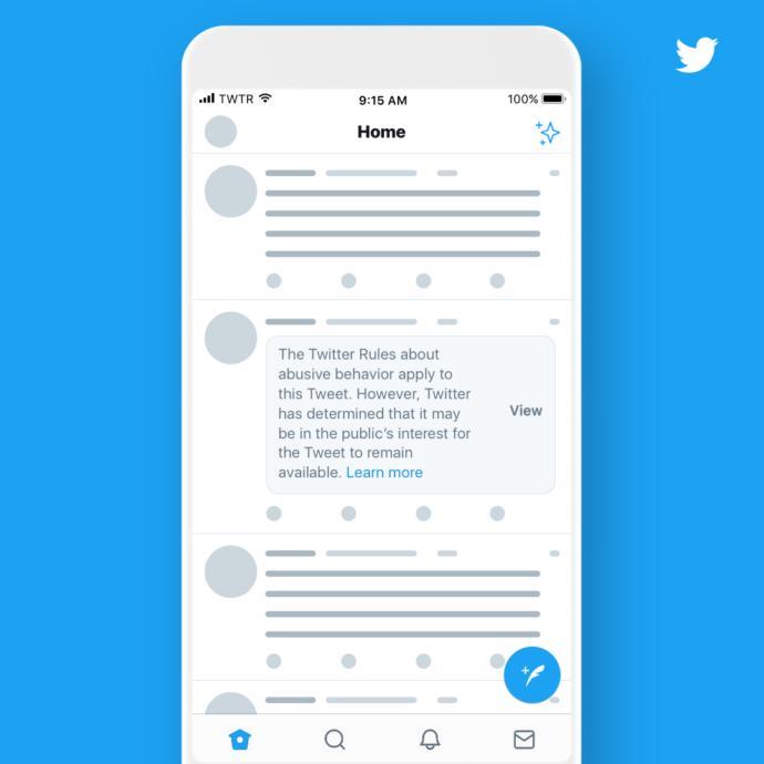 Twitter'dan Siyasi Liderlerin Tweetlerine Uyarı Etiketi Geliyor!