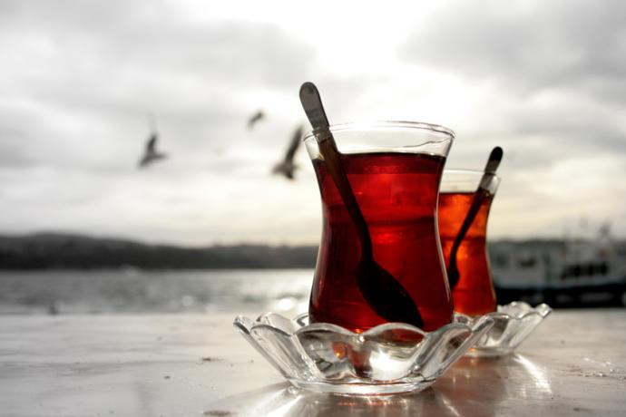 Boğaz'da Çay Keyfi
