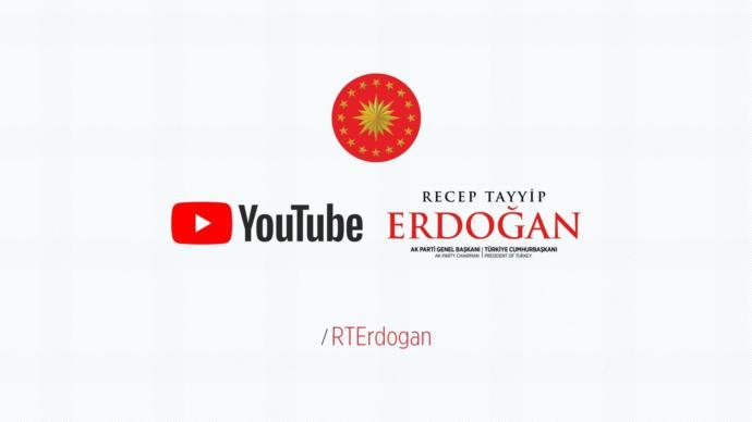 Cumhurbaşkanı Recep Tayyip Erdoğan YouTube Kanalı Açtı